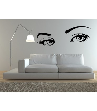 Audrey Hepburn U0027s Eyes, Vinyl Wall Stickers. Home Decor.