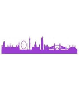 London Skyline wall decal, London skyline wall sticker.