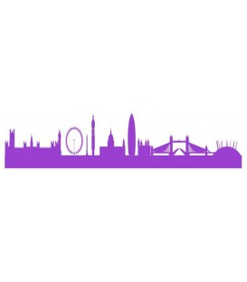 London Skyline wall decal, London skyline wall sticker.