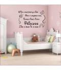Cartoon Princess magnificient castle removable wall stickers kids decor vinyl sticker