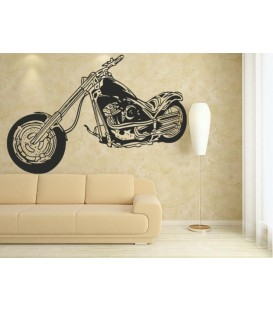 Motorbike boys bedroom wall sticker, wall graphics, wall art stickers.