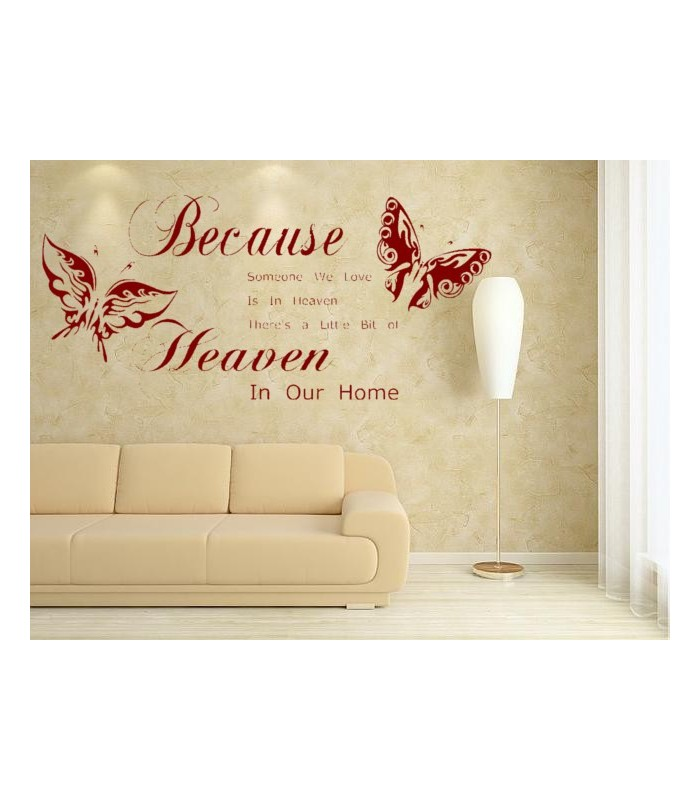 Love Quotes Vinyl Wall Art : Romantic wording for bedroom wall decal quote sticker