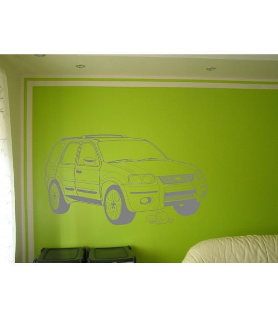 Ford Escape car vinyl wall art sticker.