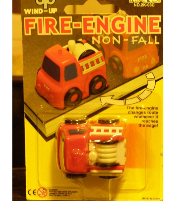 Wind up toy Fire Engine, wind-up toys by Hans.