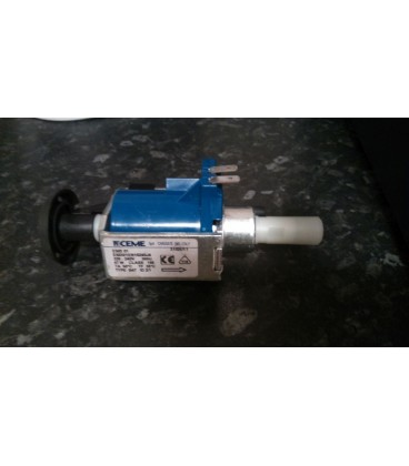 Pressurised steam generator iron water feed pump replacement