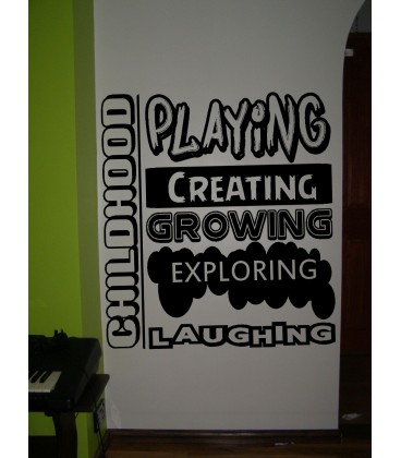 Kids bedroom rules giant wall sticker UK, boy bedroom rules wall decal, wall graphics.