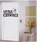 Little monsters room kids bedroom vinyl wall sticker, decal.