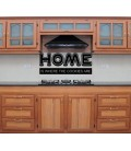 Home is where the cookies are wall decal, dinning room wall sticker.