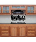 Grandmas home cooking dining room wall sticker.