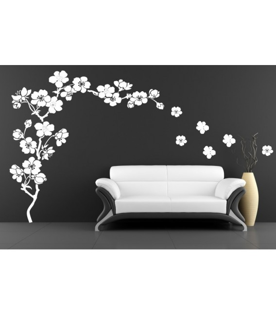 Plum blossom wall decals plum blossom wall sticker.