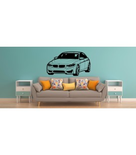 BMW wall sticker for big boy bedroom wall decor.