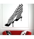 Sexy legs wall sticker for living room wall decoration.