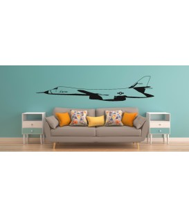 US AIR Force fight jet wall decal boy bedroom wall graphics.