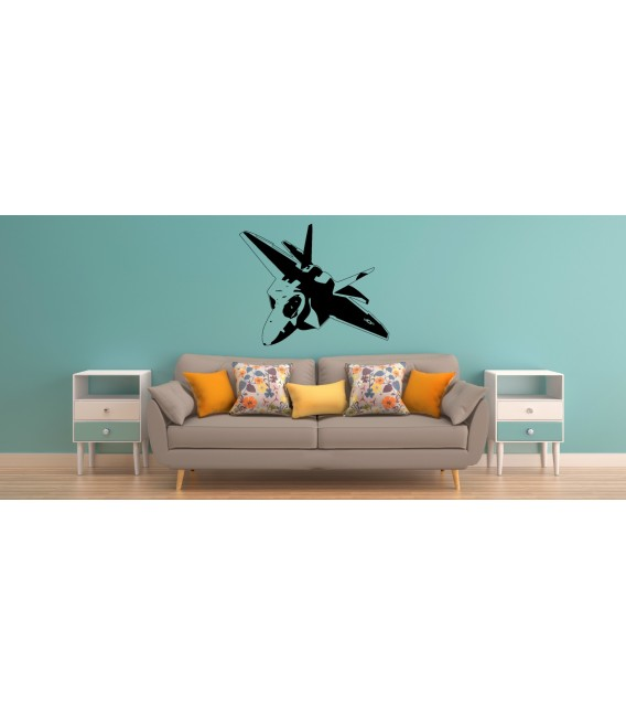 F-35 US AIR Force fight jet wall decal boy bedroom wall graphics.