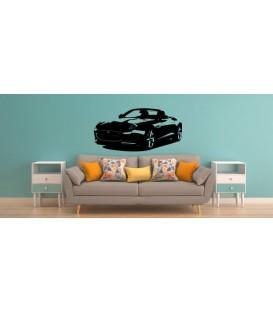 Jaguar F-type car wall decal, boys bedroom decorative wall art sticker.
