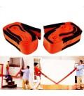 Gear shaped wooden coasters set.