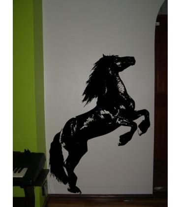 Wild horse, vinyl wall stickers. Home decor.