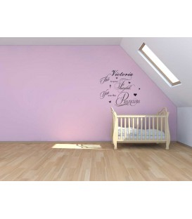 You are princes for girl bedroom wall sticker.