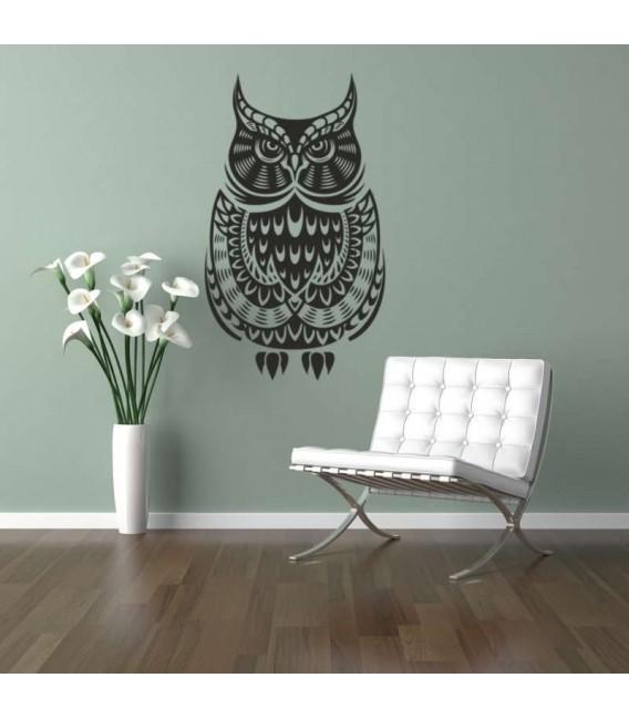 Animal owl bird flower tree monkey height chart wall stickers bedroom printed vinyl sticker.