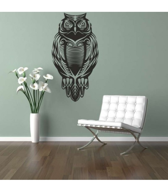 Owl as wall sticker.