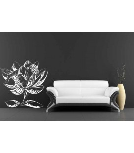 Rose flowers wall decal, rose wall sticker for wall decoration, rose wall graphics.
