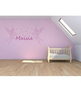 Twinkle Bell kids bedroom wall sticker.