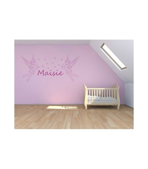 Twinkle Bell kids bedroom wall sticker.