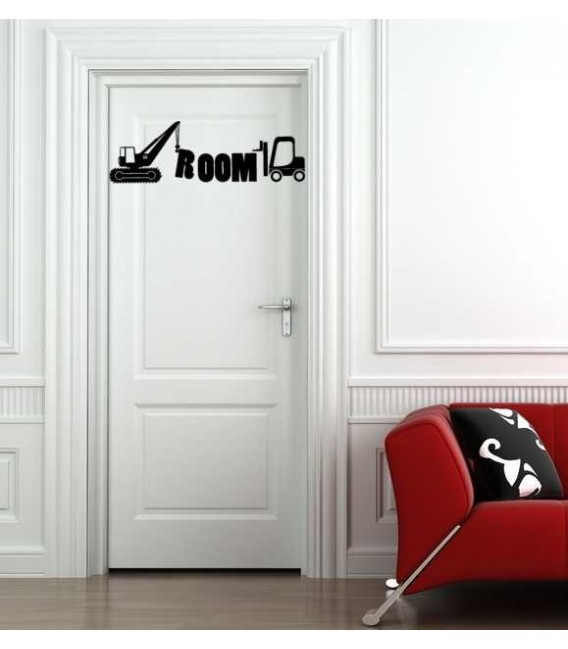 Batman movie character personalized wall decal with child name on it, boy bedroom wall decor, wall graphics.