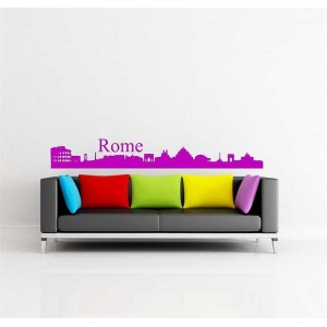 Picture frames, vinyl wall art stickers. Living room wall art decal.