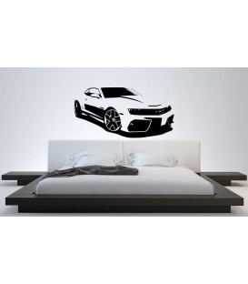 Chevrolet Camaro super-car wall sticker.