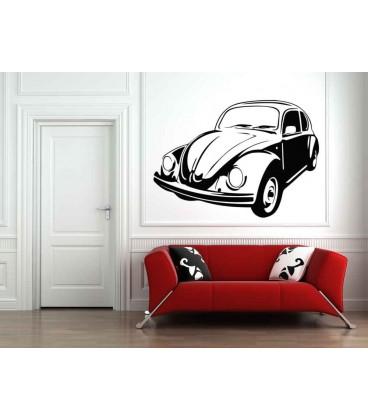 VW Beatle boys bedroom giant art wall sticker.