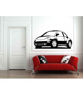 New Beetle boys bedroom giant art wall sticker.