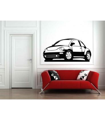 New Beetle boys bedroom giant art wall sticker.