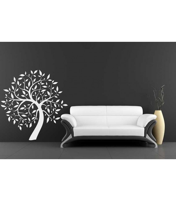 Willow tree with wall sticker for living room.
