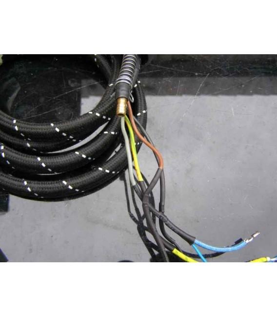Steam generator iros steam supply hose replacement.