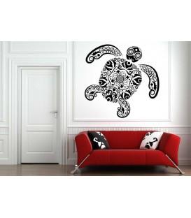 Art turtle ipod sticker, tablet sticker, decorative wall stickers.