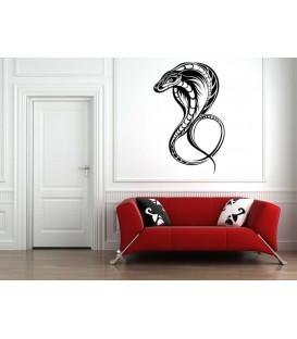 Cobra wall decal decorative wall sticker.