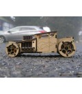 Bone shaker wooden sports car 3D Puzzle assembly kit.