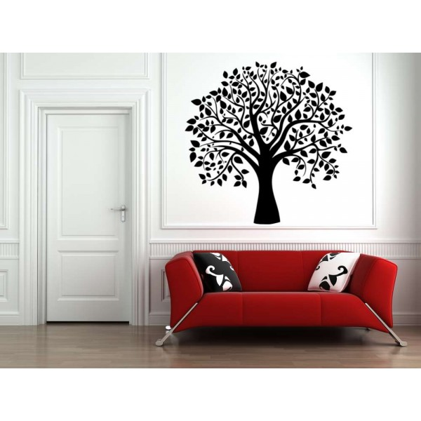 The tree wall sticker for living room.