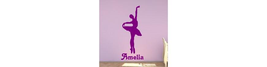 Girls bedroom stickers